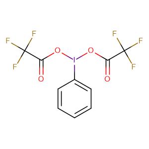 (Bis(trifluoroacetoxy)iodo)benzene,CAS No. 2712-78-9.