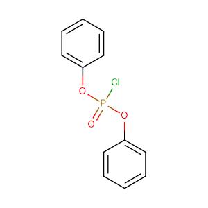 phosphorochloridic acid diphenyl ester,CAS No. 2524-64-3.