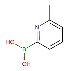 (6-Methylpyridin-2-yl)boronic acid,CAS No. 372963-50-3.