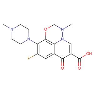 Marbofloxacin,CAS No. 115550-35-1.