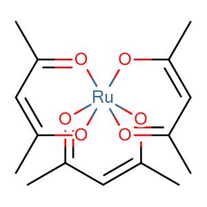 tris(2,4-pentanedionato)ruthenium(III),CAS No. 14284-93-6.