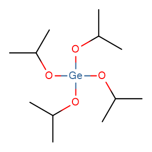 Germanium (IV) isopropoxide,CAS No. 21154-48-3.