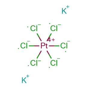 Potassium chloroplatinate,CAS No. 16921-30-5.