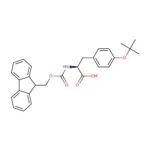 Fmoc-O-tert-butyl-L-tyrosine,CAS No. 71989-38-3.