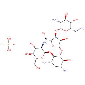 Paromomycin sulfate,CAS No. 1263-89-4.