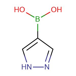 Pyrazole - 4 - boronic acid,CAS No. 763120-58-7.
