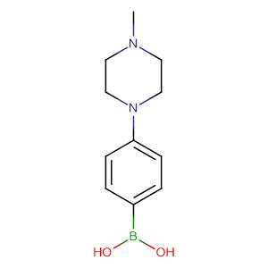 (4-(4-Methylpiperazin-1-yl)phenyl)boronic acid,CAS No. 229009-40-9.