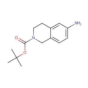 6-Amino-2-N-Boc-1,2,3,4-tetrahydroisoquinoline,CAS No. 164148-92-9.