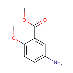 Methyl 5-amino-o-anisate,CAS No. 22802-67-1.