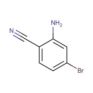 2-Amino-4-bromobenzonitrile,CAS No. 304858-65-9.
