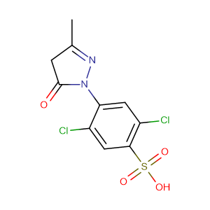 Dichlorosulfophenyl-3-methylpyrazolone,CAS No. 84-57-1.