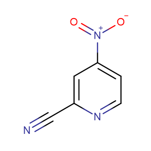 4-Nitropicolinonitrile,CAS No. 19235-88-2.