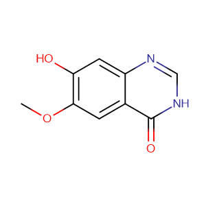 6-Methoxy-7-hydroxyquinazolin-4-one,CAS No. 162012-72-8.