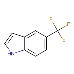 5-(Trifluoromethyl)-1H-indole,CAS No. 100846-24-0.