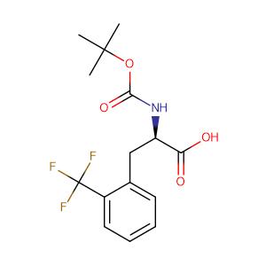 N-Boc-2-(Trifluoromethyl)-D-phenylalanine,CAS No. 346694-78-8.