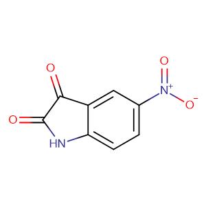 5-Nitroindoline-2,3-dione,CAS No. 611-09-6.