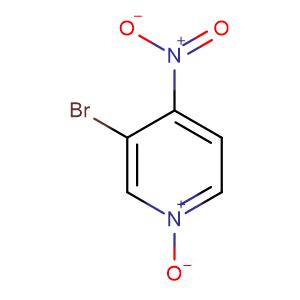 3-Bromo-4-nitropyridine 1-oxide,CAS No. 1678-49-5.
