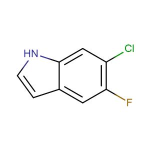 6-Chloro-5-fluoroindole,CAS No. 122509-72-2.