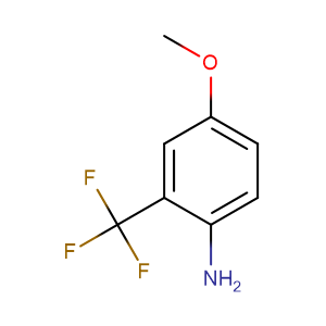 2-Amino-5-methoxybenzotrifluoride,CAS No. 53903-49-4.