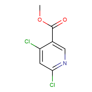 Methyl 4,6-dichloronicotinate,CAS No. 65973-52-6.