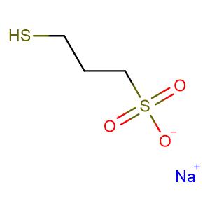 Sodium 3-mercaptopropanesulphonate,CAS No. 17636-10-1.