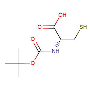 Boc-L-cysteine,CAS No. 20887-95-0.