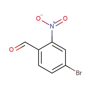 4-Bromo-2-nitrobenzaldehyde,CAS No. 5551-12-2.
