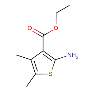 Ethyl 2-amino-4,5-dimethylthiophene-3-carboxylate,CAS No. 4815-24-1.