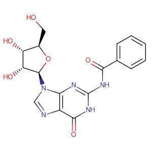 N2-Benzoyl-D-guanosine,CAS No. 3676-72-0.