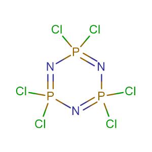 Phosphonitrilic chloride trimer,CAS No. 940-71-6.
