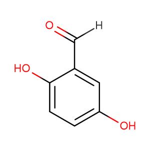 2,5-Dihydroxybenzaldehyde,CAS No. 1194-98-5.