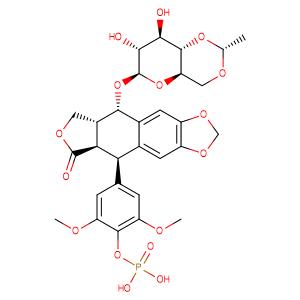 Etoposide phosphate,CAS No. 117091-64-2.