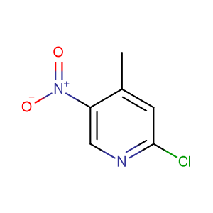 2-Chloro-4-methyl-5-nitropyridine,CAS No. 23056-33-9.