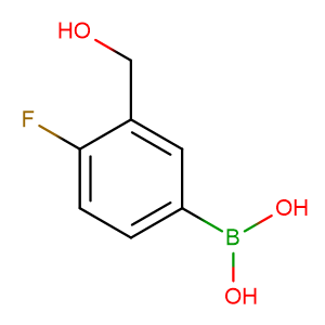 [4-Fluoro-3-(hydroxymethyl)phenyl]boronic acid,CAS No. 481681-02-1.