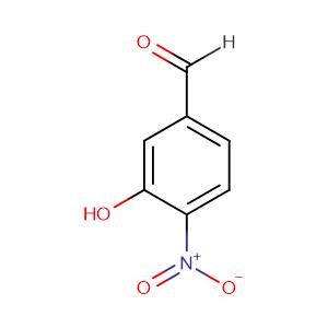 3-Hydroxy-4-Nitrobenzaldehyde,CAS No. 704-13-2.