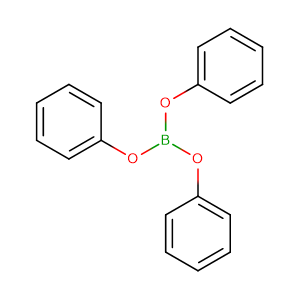Triphenyl borate,CAS No. 1095-03-0.