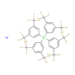 Na[B(3,5-(CF3)2C6H3)4],CAS No. 79060-88-1.