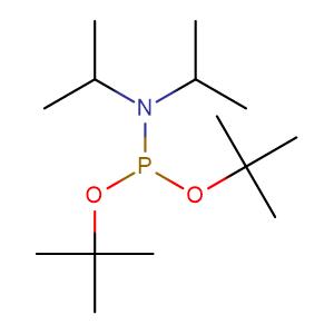 Di-tert-butyl N,N-diisopropylphosphoramidite,CAS No. 137348-86-8.
