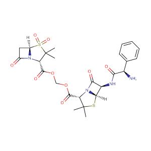 Sultamicillin,CAS No. 76497-13-7.