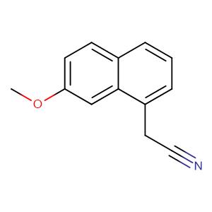 7-Methoxy-1-naphthylacetonitrile,CAS No. 138113-08-3.