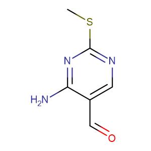 4-Amino-2-(methylthio)pyrimidine-5-carbaldehyde,CAS No. 770-31-0.