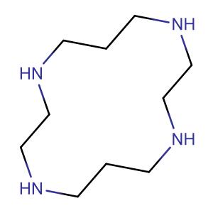 1,4,8,11-tetraazacyclo-tetradecane,CAS No. 295-37-4.