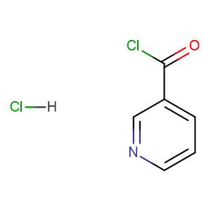 Nicotinoyl chloride hydrochloride,CAS No. 20260-53-1.
