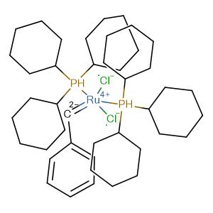 bis(tricyclohexylphosphine)benzylidene ruthenium(IV) dichloride,CAS No. 172222-30-9.