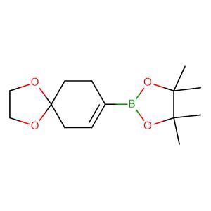 1,4-Dioxa-spiro[4,5]dec-7-en-8-boronic acid, pinacol ester,CAS No. 680596-79-6.