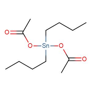 Dibutyltin diacetate,CAS No. 1067-33-0.