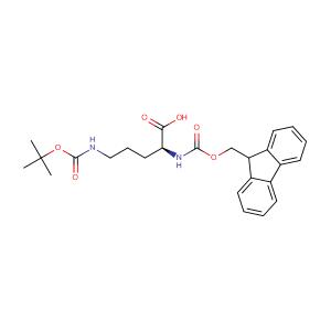 Nalpha-Fmoc-Ndelta-Boc-L-ornithine,CAS No. 109425-55-0.