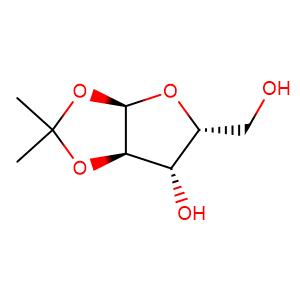 (3aR,5R,6S,6aR)-5-(hydroxymethyl)-2,2-dimethyl-tetrahydro-2H-furo[2,3-d][1,3]dioxol-6-ol,CAS No. 20031-21-4.