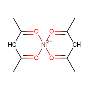 anhydrous nickel acetylacetonate,CAS No. 3264-82-2.