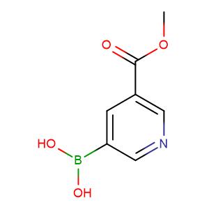 (5-(Methoxycarbonyl)pyridin-3-yl)boronic acid,CAS No. 871329-53-2.